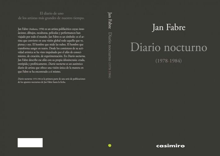 Jan Fabre Diario nocturno (1978-1984)