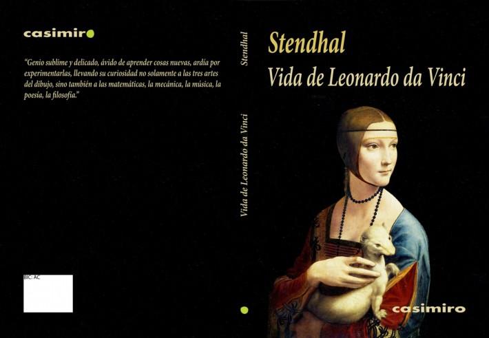 Stendhal Vida de Leonardo Cubierta.ai