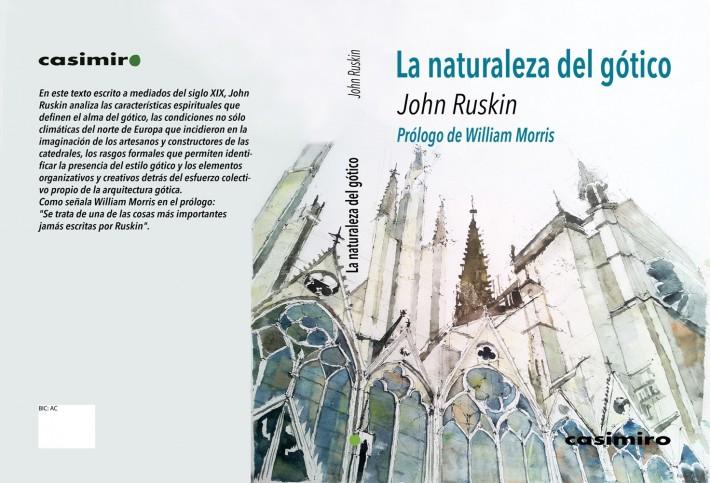 Ruskin Gótico cubierta