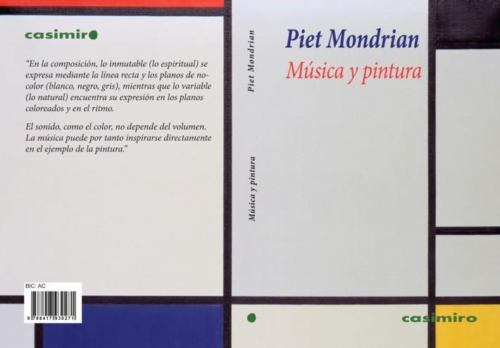 Mondrian música cubierta